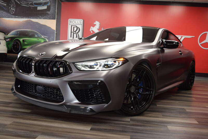 2020 BMW M8 for sale at Icon Exotics in Houston TX