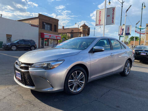 2017 Toyota Camry for sale at Latino Motors in Aurora IL