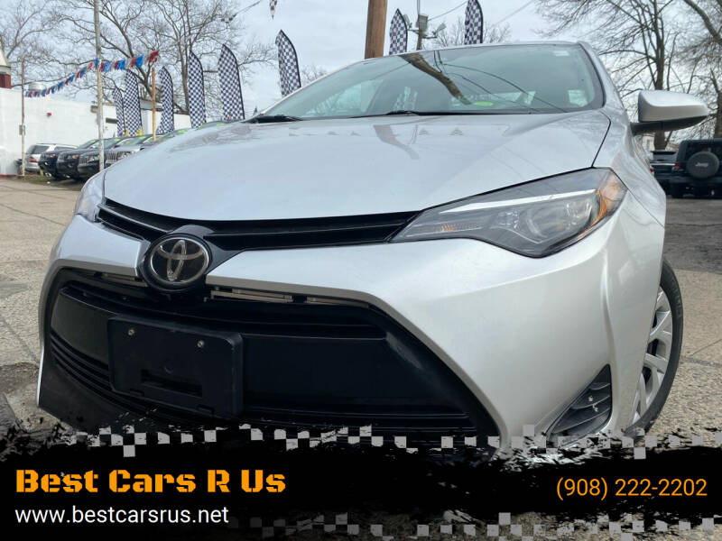 2017 Toyota Corolla for sale at Best Cars R Us in Plainfield NJ