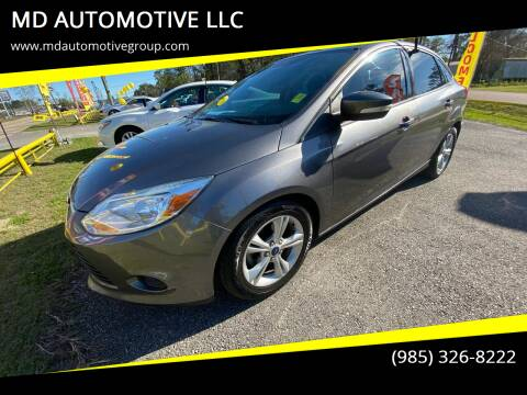2014 Ford Focus for sale at MD AUTOMOTIVE LLC in Slidell LA