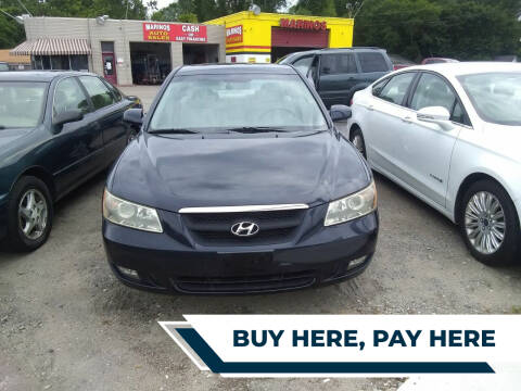 2006 Hyundai Sonata for sale at Marino's Auto Sales in Laurel DE