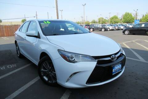 2016 Toyota Camry for sale at Choice Auto & Truck in Sacramento CA