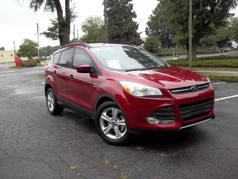 2013 Ford Escape for sale at CORTEZ AUTO SALES INC in Marietta GA