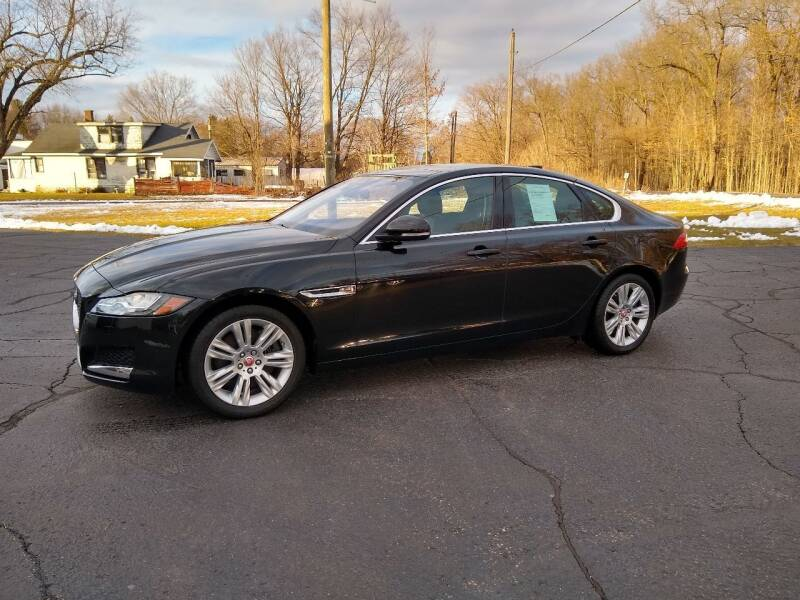 2017 Jaguar XF for sale at Depue Auto Sales Inc in Paw Paw MI