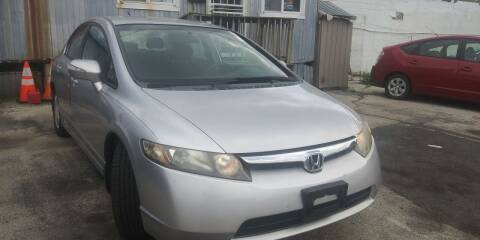 2007 Honda Civic for sale at K J AUTO SALES in Philadelphia PA