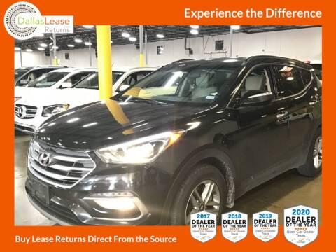 2018 Hyundai Santa Fe Sport for sale at Dallas Auto Finance in Dallas TX