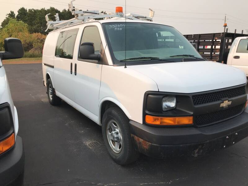 2007 Chevrolet Express Cargo for sale at CARGO VAN GO.COM in Shakopee MN