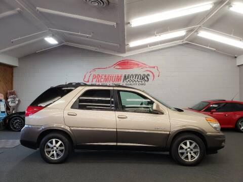 2002 Buick Rendezvous for sale at Premium Motors in Villa Park IL