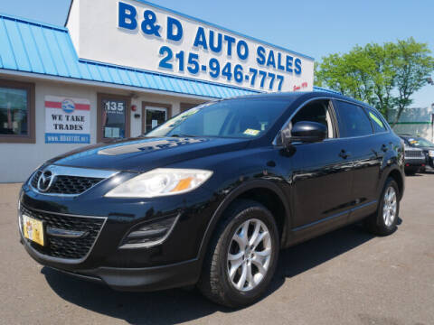 2012 Mazda CX-9 for sale at B & D Auto Sales Inc. in Fairless Hills PA