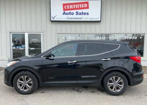 2013 Hyundai Santa Fe Sport for sale at Certified Auto Sales in Des Moines IA