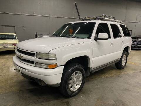 2002 Chevrolet Tahoe for sale at EA Motorgroup in Austin TX