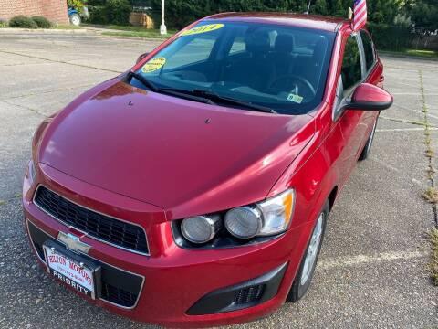 2014 Chevrolet Sonic for sale at Hilton Motors Inc. in Newport News VA