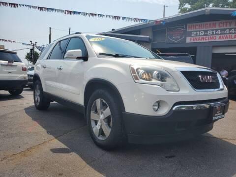2012 GMC Acadia for sale at Michigan city Auto Inc in Michigan City IN