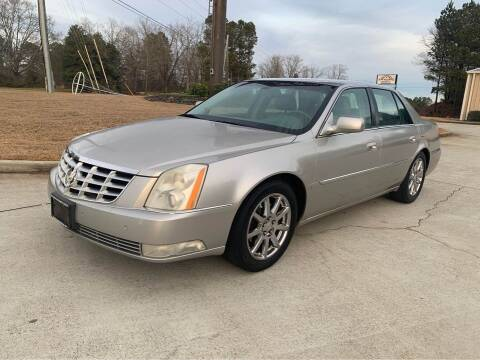 2007 Cadillac DTS for sale at Two Brothers Auto Sales in Loganville GA