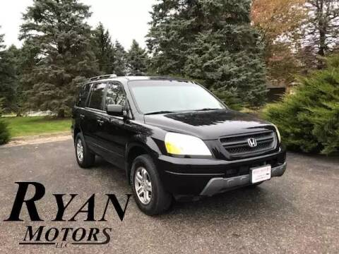 2005 Honda Pilot for sale at Ryan Motors LLC in Warsaw IN