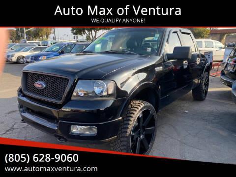 2005 Ford F-150 for sale at Auto Max of Ventura in Ventura CA