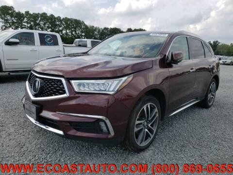 2017 Acura MDX for sale at East Coast Auto Source Inc. in Bedford VA