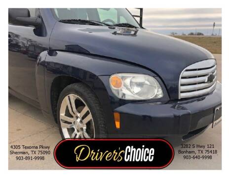 2011 Chevrolet HHR for sale at Driver's Choice in Sherman TX