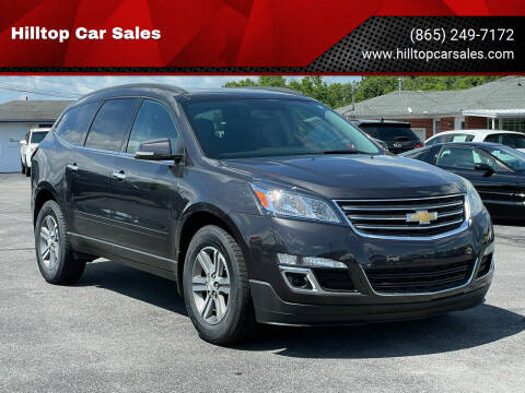 2016 Chevrolet Traverse for sale at Hilltop Car Sales in Knoxville TN