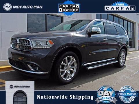 2017 Dodge Durango for sale at INDY AUTO MAN in Indianapolis IN