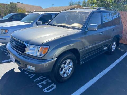 2001 Toyota Land Cruiser for sale at Coast Auto Motors in Newport Beach CA