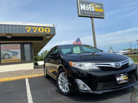 2012 Toyota Camry for sale at MotoMaxx in Spring Lake Park MN