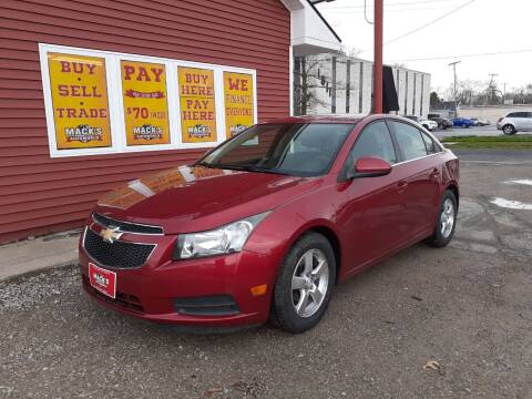 2012 Chevrolet Cruze for sale at Mack's Autoworld in Toledo OH