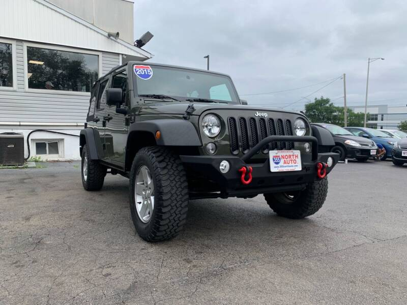2015 Jeep Wrangler Unlimited for sale at 355 North Auto in Lombard IL