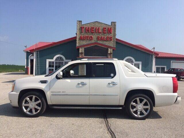 2011 Cadillac Escalade EXT for sale at THEILEN AUTO SALES in Clear Lake IA
