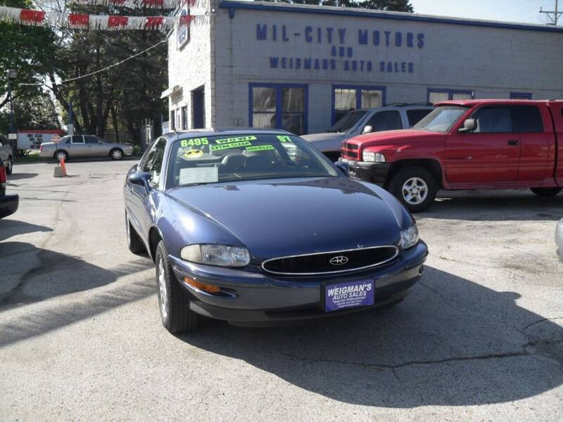 1997 Buick Riviera for sale at Weigman's Auto Sales in Milwaukee WI