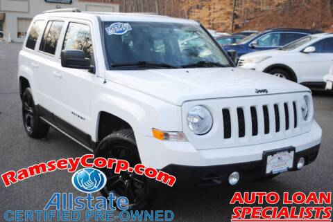 2015 Jeep Patriot for sale at Ramsey Corp. in West Milford NJ