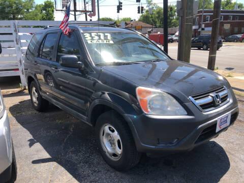 2002 Honda CR-V for sale at Klein on Vine in Cincinnati OH
