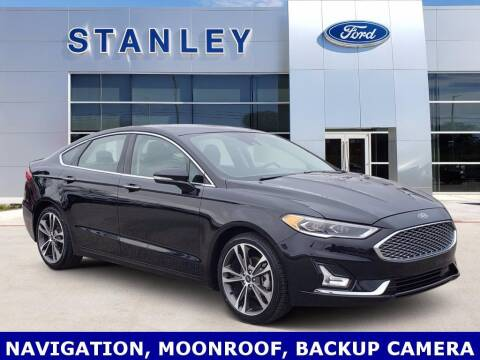 2019 Ford Fusion for sale at Stanley Ford Gilmer in Gilmer TX