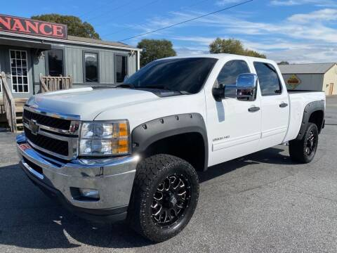 2013 Chevrolet Silverado 2500HD for sale at Modern Automotive in Boiling Springs SC