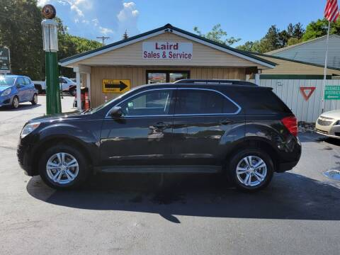 2015 Chevrolet Equinox for sale at LAIRD SALES AND SERVICE in Muskegon MI