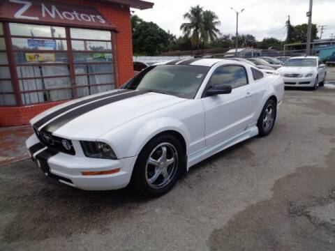 2005 Ford Mustang for sale at Z MOTORS INC in Hollywood FL