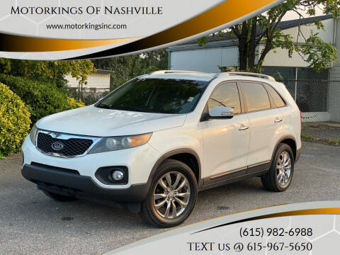 2011 Kia Sorento for sale at Motorkings Of Nashville in Nashville TN