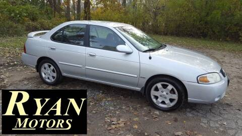 2005 Nissan Sentra for sale at Ryan Motors LLC in Warsaw IN