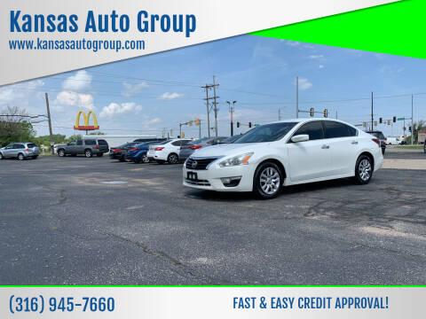 2013 Nissan Altima for sale at Kansas Auto Group in Wichita KS