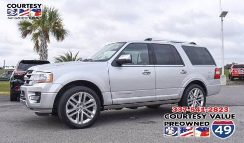 2017 Ford Expedition for sale at Courtesy Value Pre-Owned I-49 in Lafayette LA