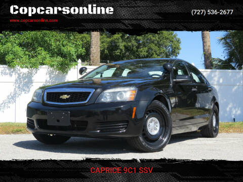 2014 Chevrolet Caprice for sale at Copcarsonline in Largo FL
