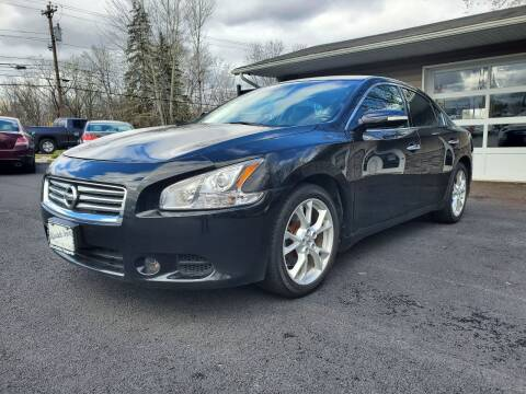 2014 Nissan Maxima for sale at AFFORDABLE IMPORTS in New Hampton NY
