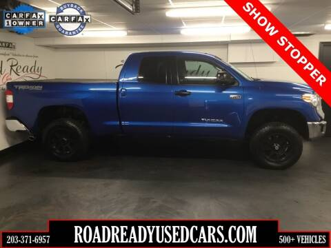 2016 Toyota Tundra for sale at Road Ready Used Cars in Ansonia CT
