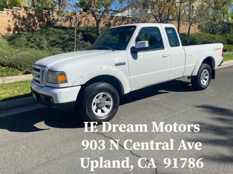 2006 Ford Ranger for sale at IE Dream Motors-Upland in Upland CA