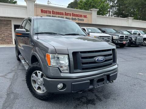 2010 Ford F-150 for sale at North Georgia Auto Brokers in Snellville GA