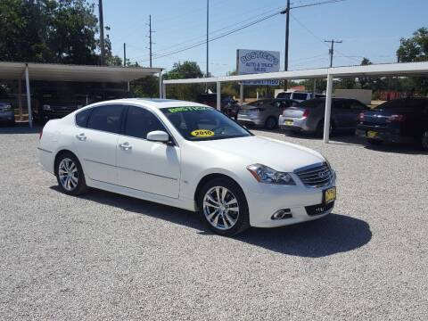 2010 Infiniti M35 for sale at Bostick's Auto & Truck Sales in Brownwood TX