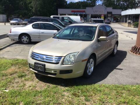 2007 Ford Fusion for sale at Desi's Used Cars in Peabody MA