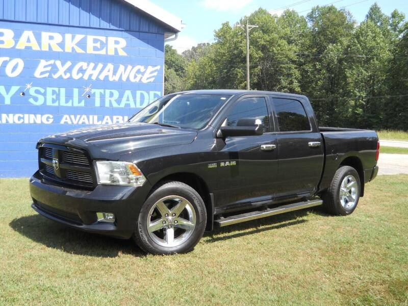 2010 Dodge Ram Pickup 1500 for sale at BARKER AUTO EXCHANGE in Spencer IN