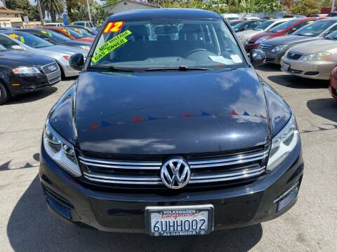 2012 Volkswagen Tiguan for sale at North County Auto in Oceanside CA