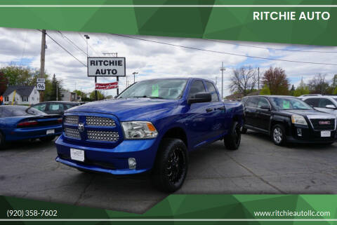 2015 RAM Ram Pickup 1500 for sale at Ritchie Auto in Appleton WI